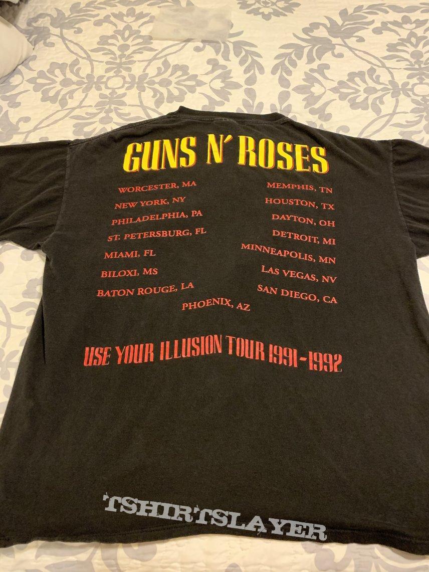 Guns 'N' Roses Use Your Illusion Tour Shirt