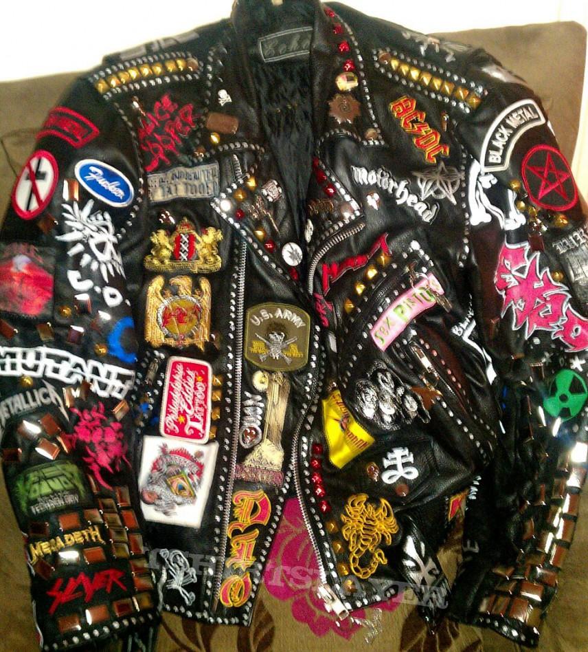 Leather jacket punk - Punk Leather Jacket For Sale