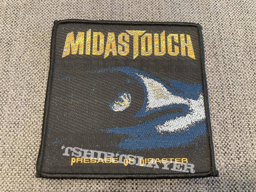 Midas Touch - Presage Of Disaster Official Woven Patch