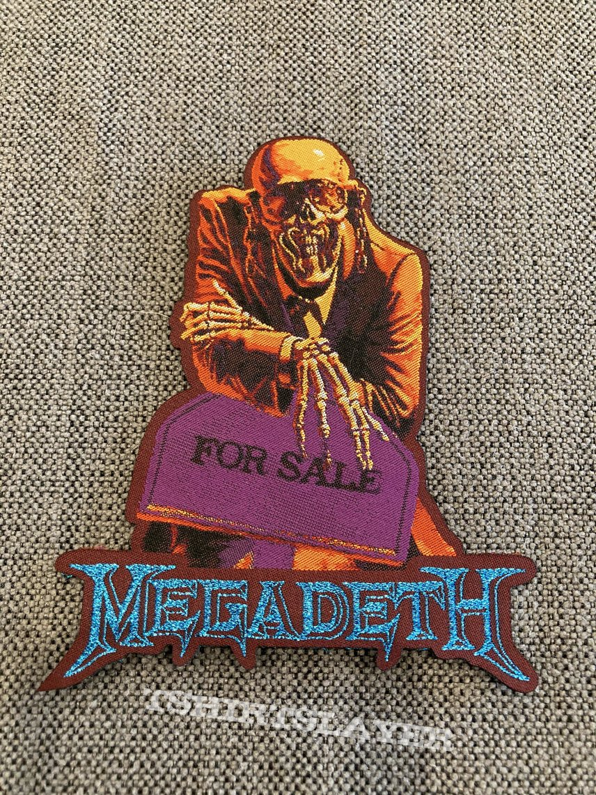 Megadeth - Peace Sells Woven Shaped Patch