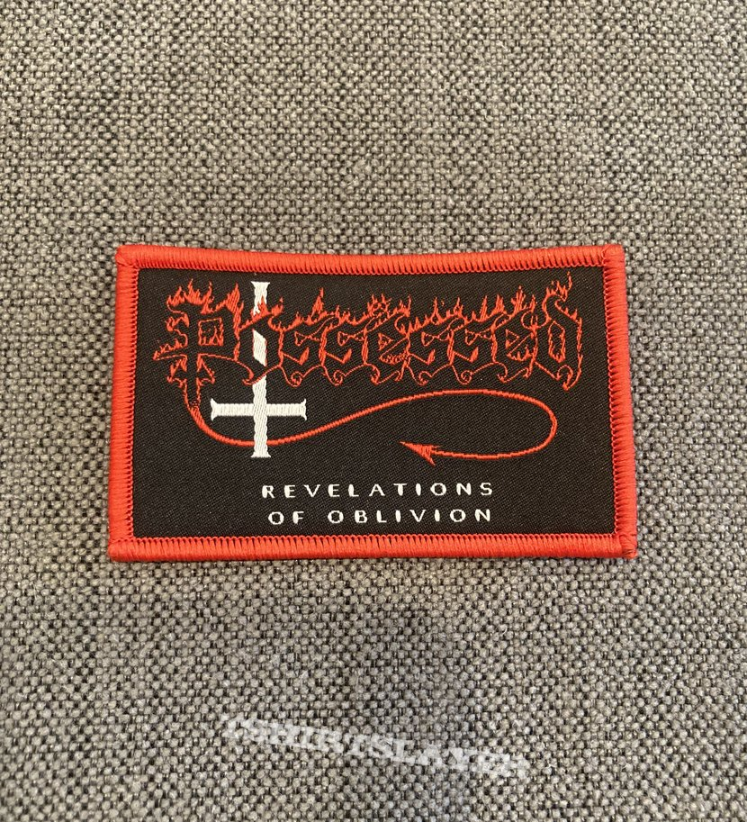 Possessed - Revelations Of Oblivion Woven Mini Patch (Approved By Jeff Becerra)