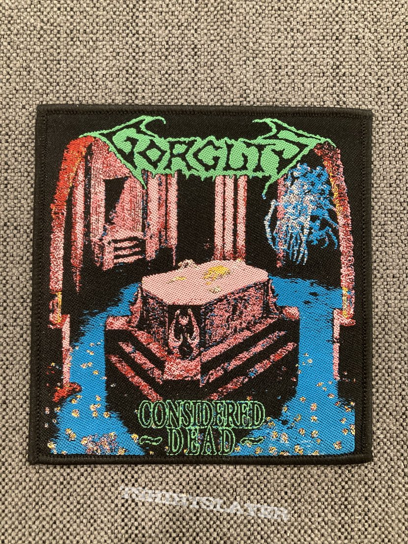 Gorguts - Considered Dead Woven Patch