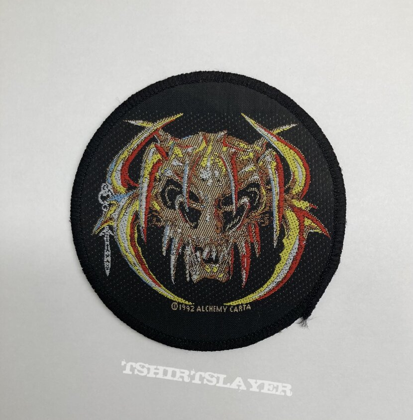 Dead Head - The Feast Begins At Dawn VTG Woven Patch