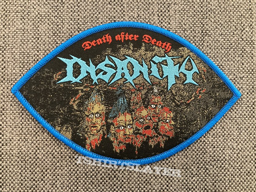 Insanity - Death After Death Official Woven Patch