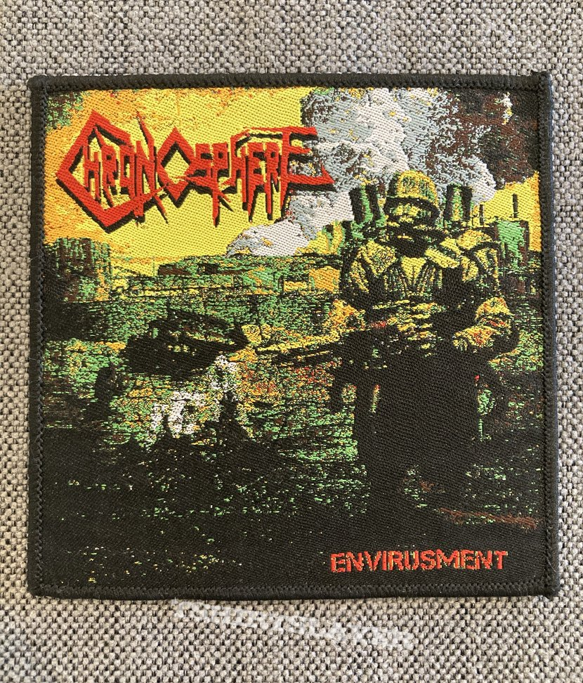 Chronosphere- Envirusment Official Woven Patch