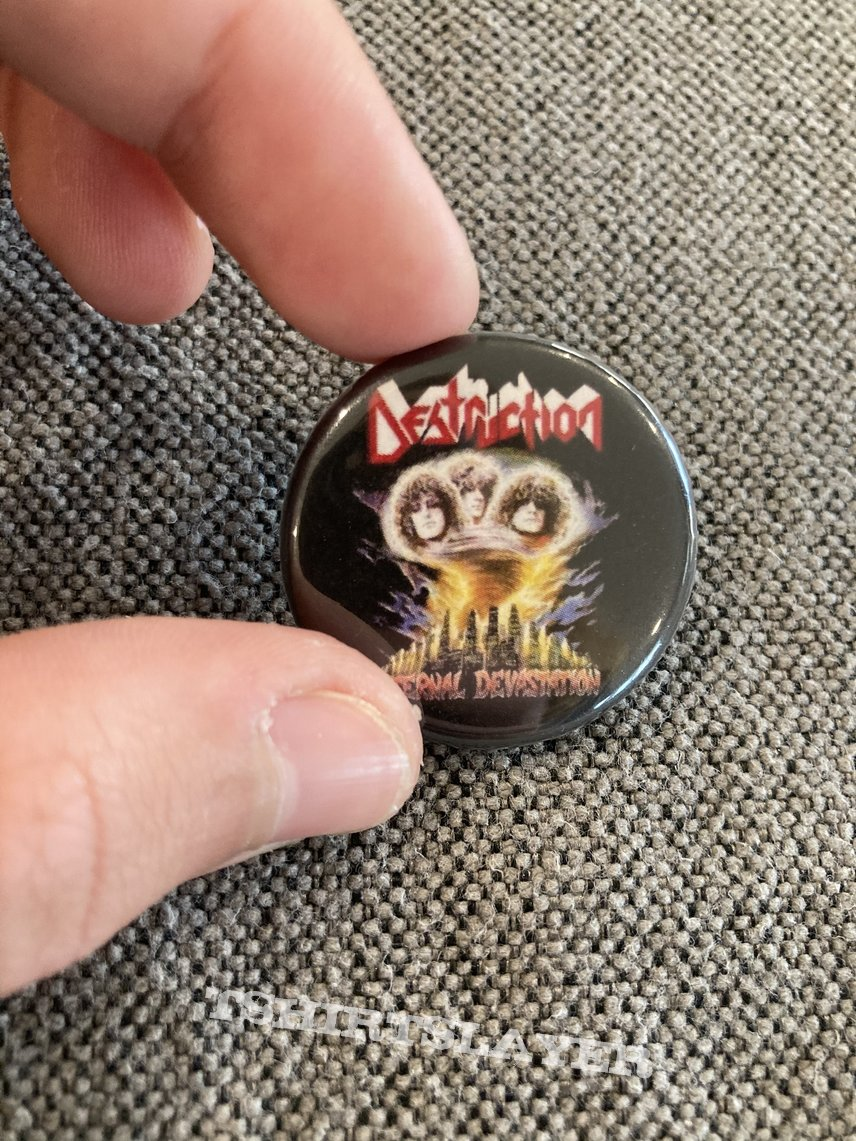 Destruction - Eternal Devastation Pin