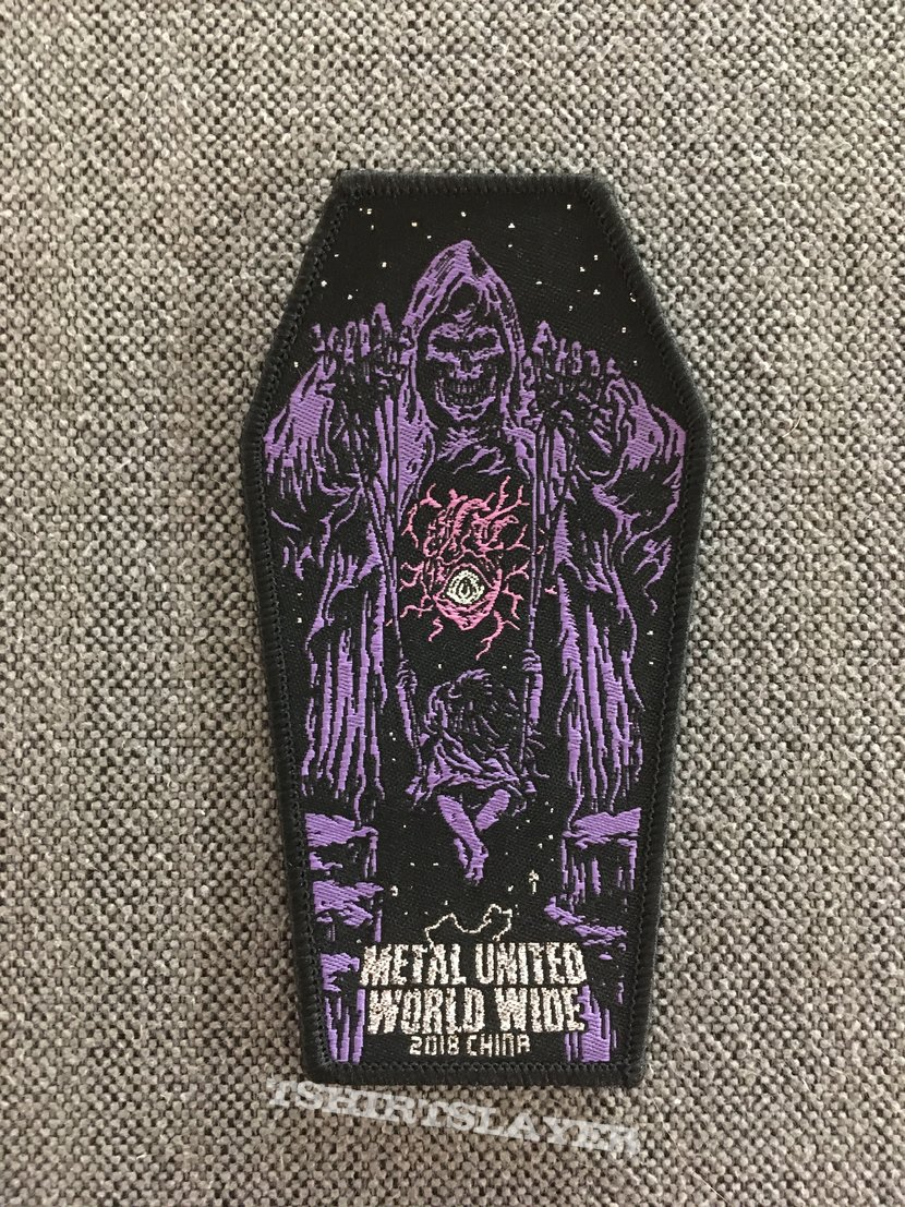 Metal United World Wide 2018 China Patch