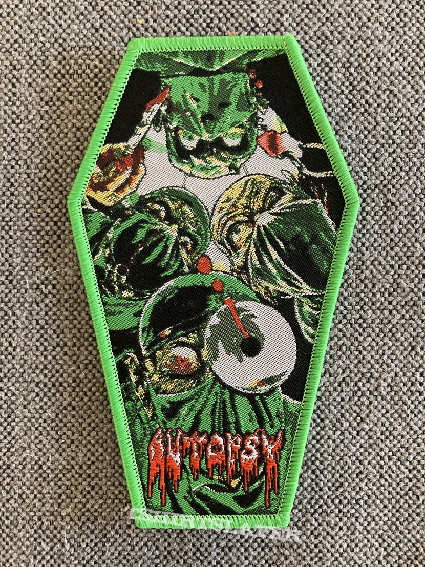 Autopsy - Severed Survival Woven Coffin Patch