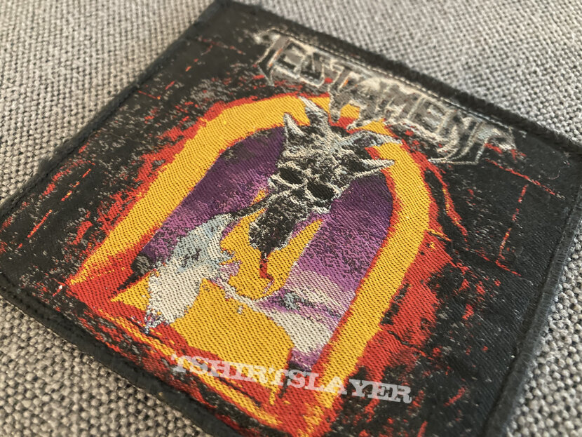 Testament - The Legacy Woven Patch