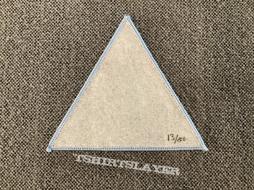 Death - Symbolic Woven Triangle Patch