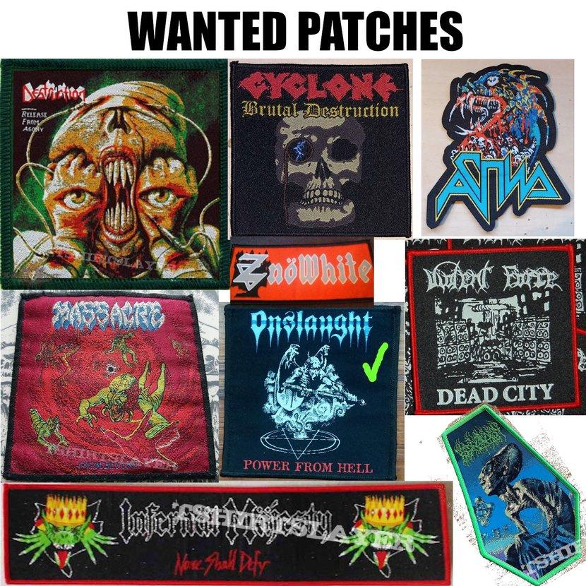 Patch Wantlist