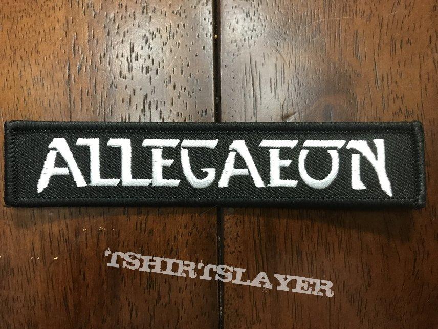 Allegaeon official logo strip