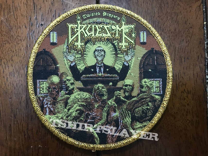 Gruesome Twisted Prayers official patch gold