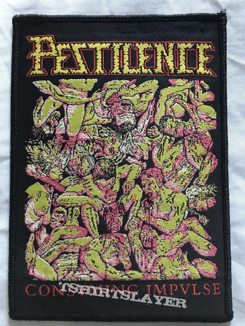 Pestilence Consvming Impvlse Woven patch