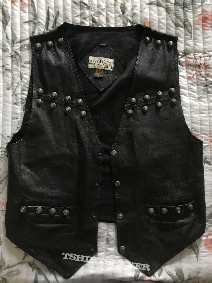 New Leather Vest