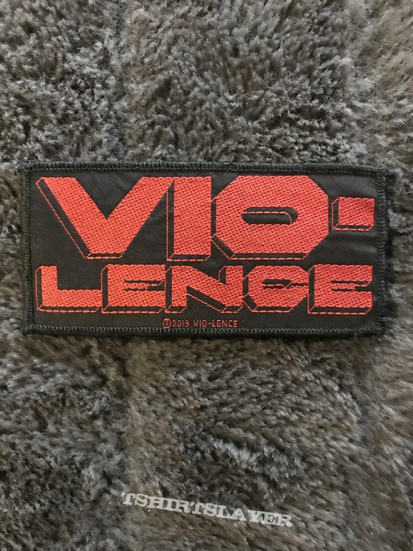 Vio-Lence Small woven patch