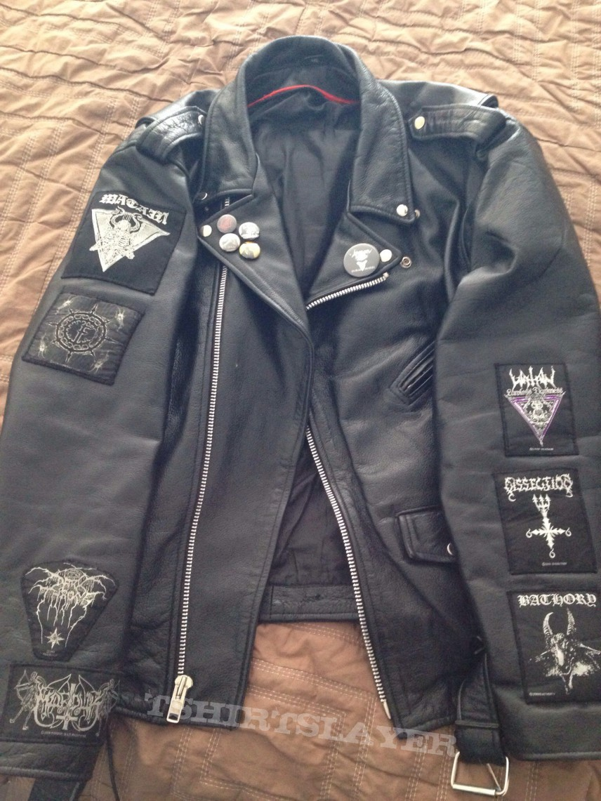 Heavy Metal Leather Jacket