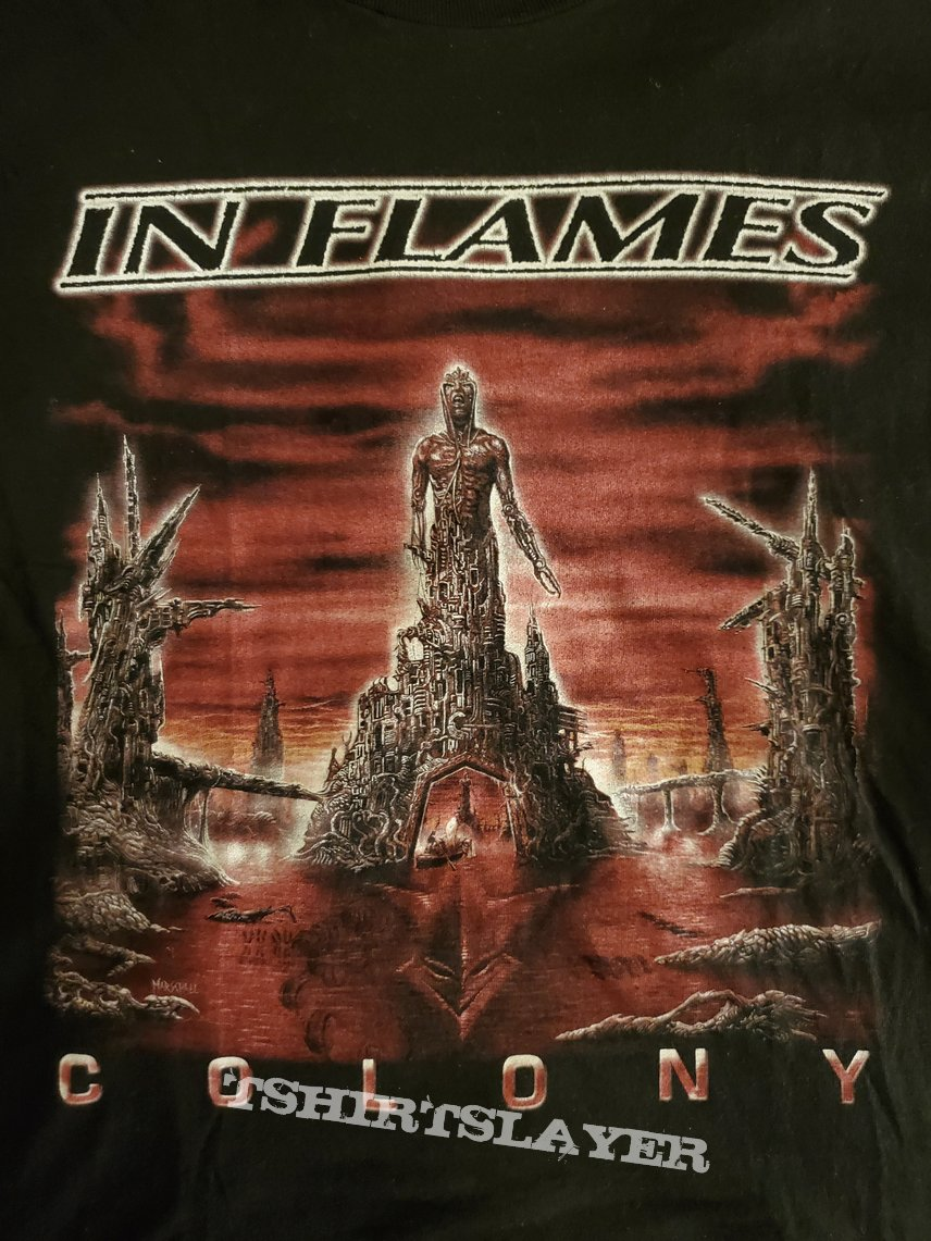Original In Flames Colony Longsleeve Shirt