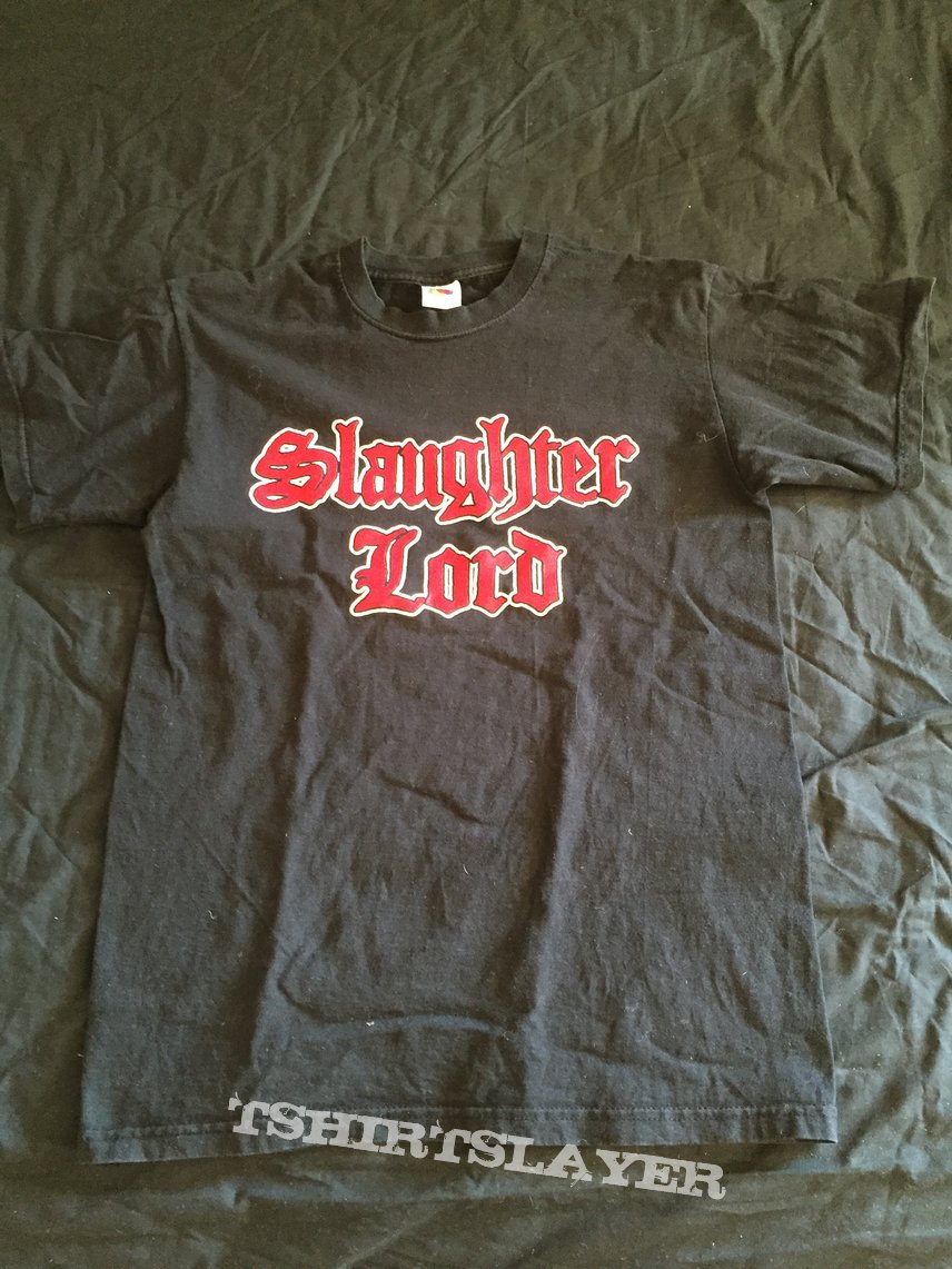 Slaughter Lord logo tee