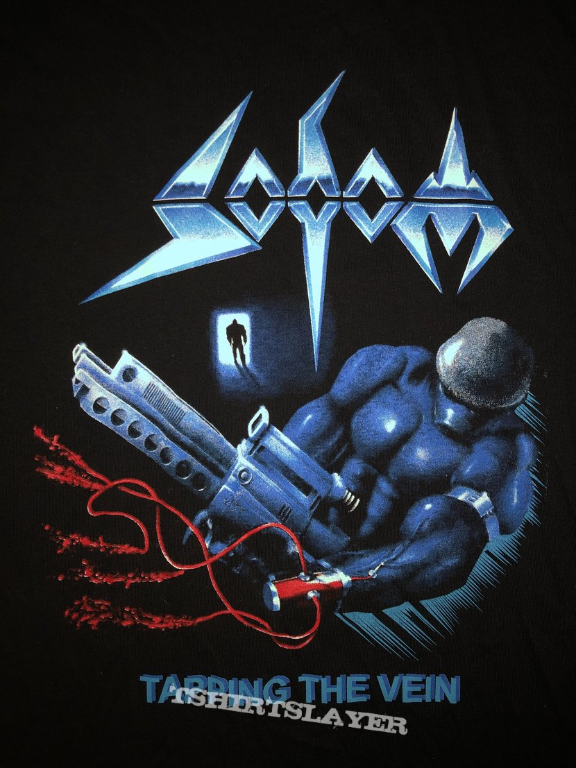 Sodom - Tapping The Vein 1992 Tour Shirt Reprint