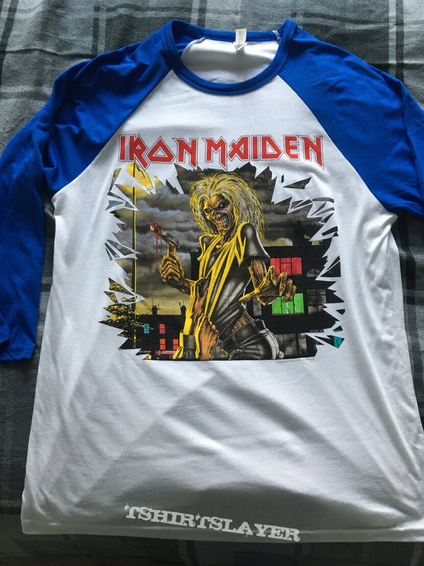 Iron Maiden Killers baseball jersey 2021 issue