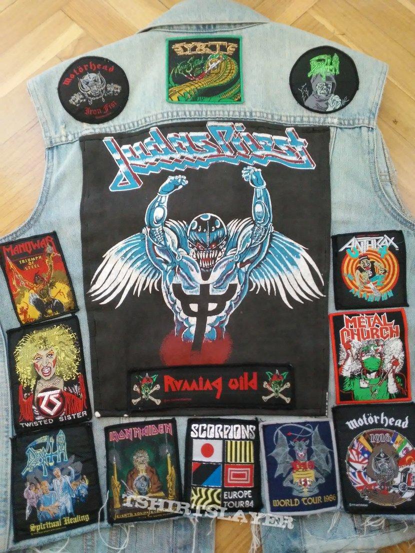 Judas Priest Kutte Corona update