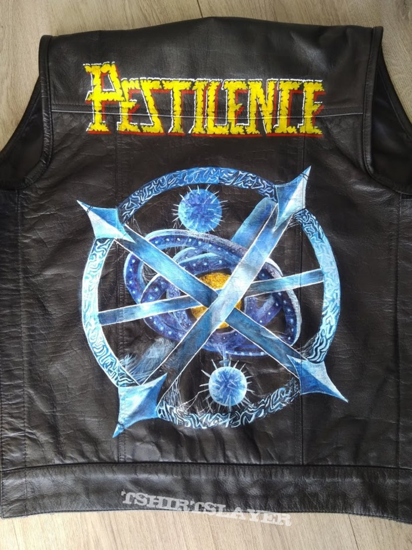 Pestilence Testimony of the Ancients Sphere handpainted