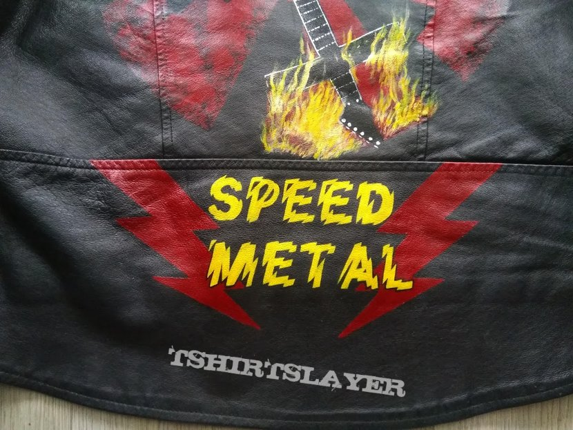 Bütcher handpainted speed metal wheel