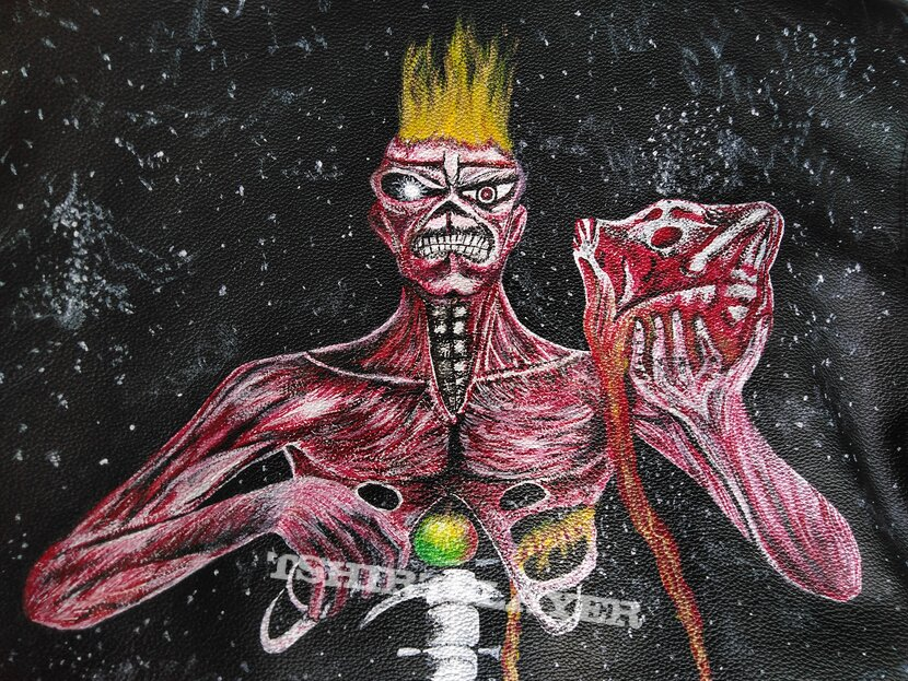 handpainted iron maiden seventh son of a seventh son