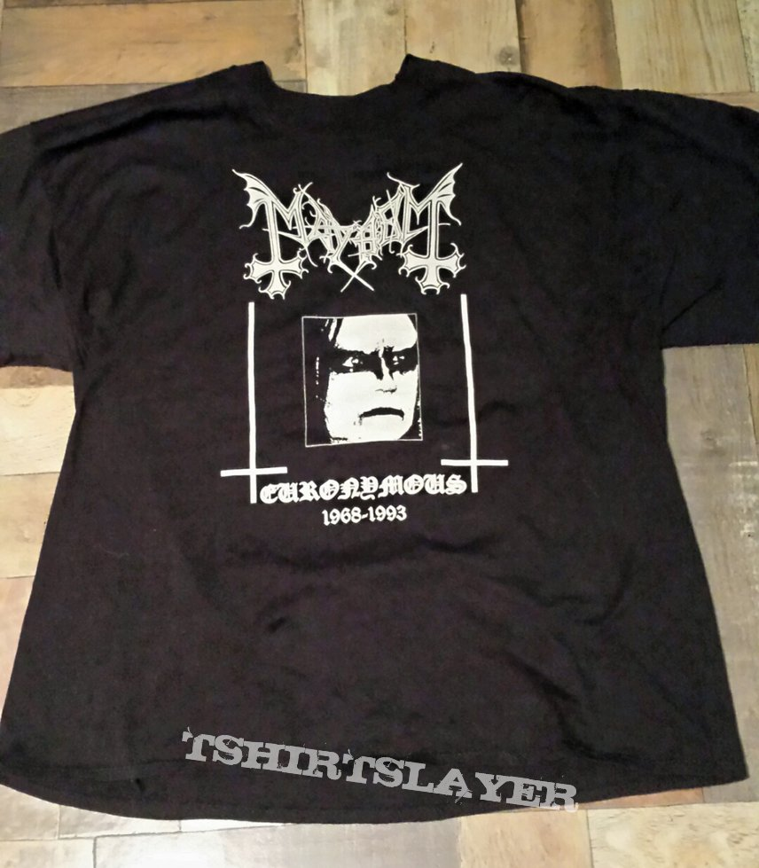 Mayhem - Euronymous/Pure Fucking Armageddon Shirt