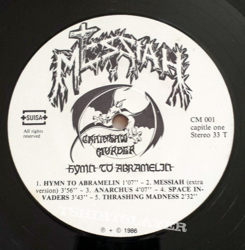Messiah - Hymn To Abramelin (Original LP 1986)