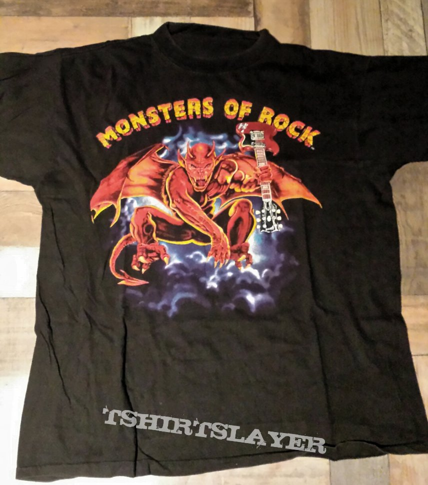 Monsters Of Rock Tourshirt 1991