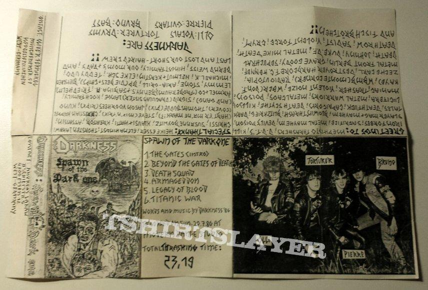 Darkness - Spawn Of The Dark One (Demo 1986)
