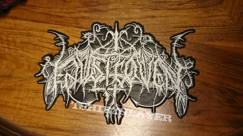 Faustcoven embroided Faux Leather Backpatch for you