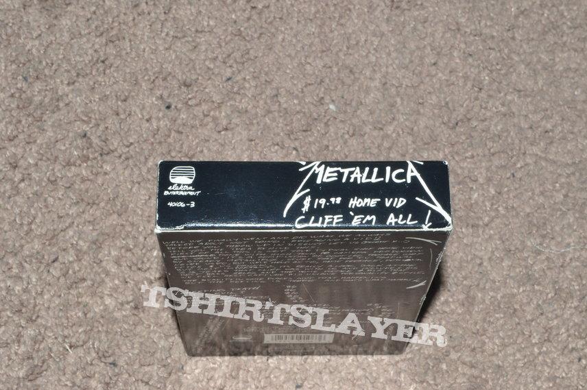 Metallica $19.98 Home Vid: Cliff 'Em All!