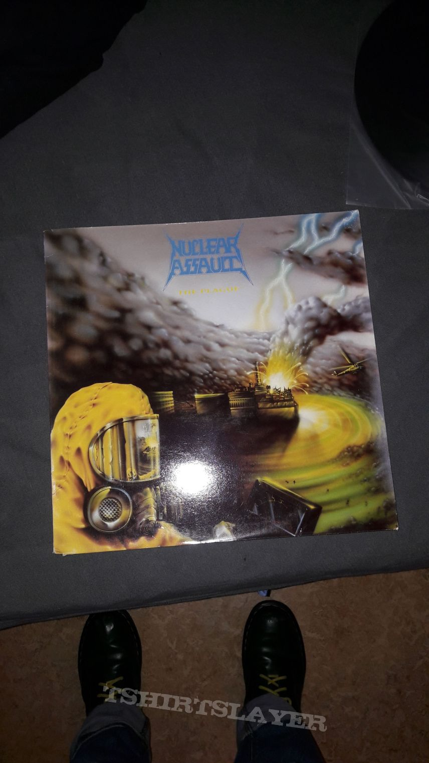 Nuclear Assault The Plague Vinyl