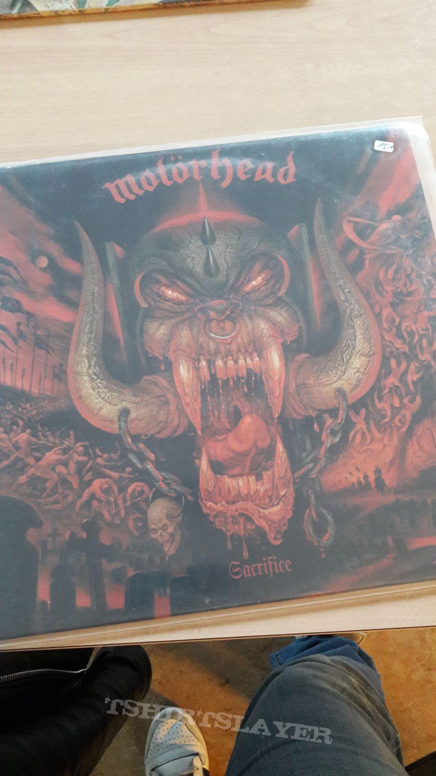 Motörhead Sacrifice Vinyl