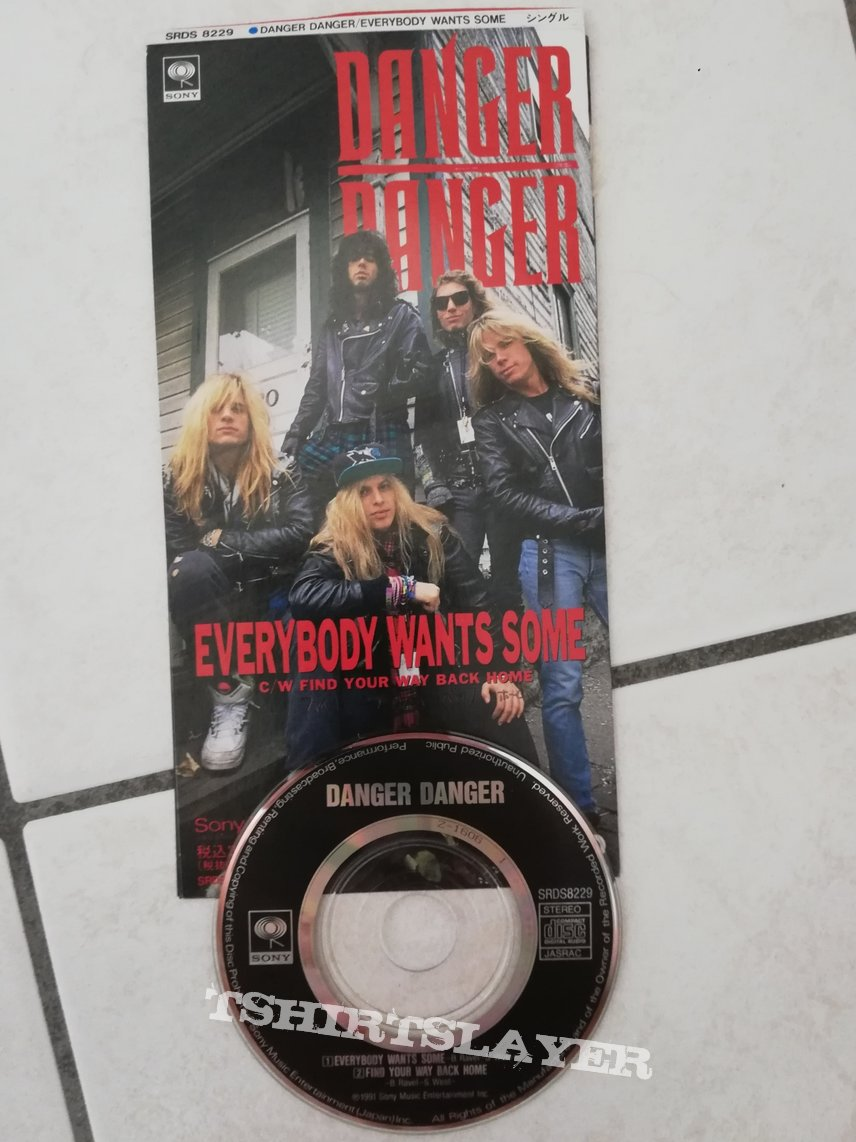 Danger Danger - every body wants some 3 inch mini single cd
