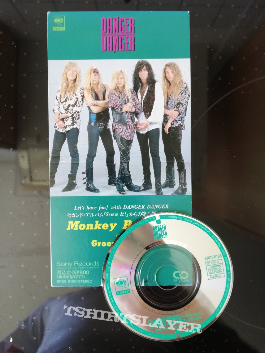 Danger Danger - monkey business 3 inch mini single cd