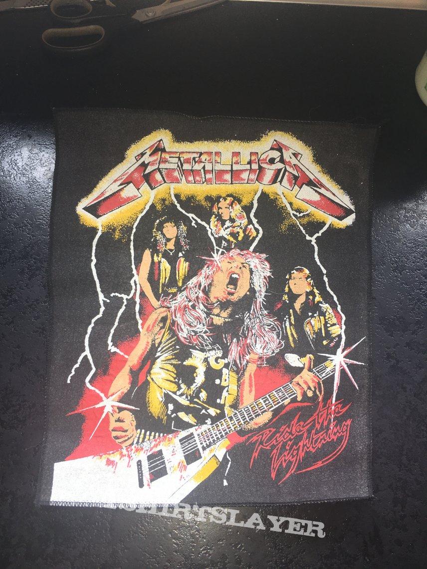 1984 Metallica RTL Bootleg backpatch