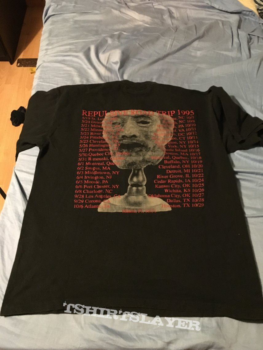 Broken Hope 1995 Repulsive Conception Tour Shirt!