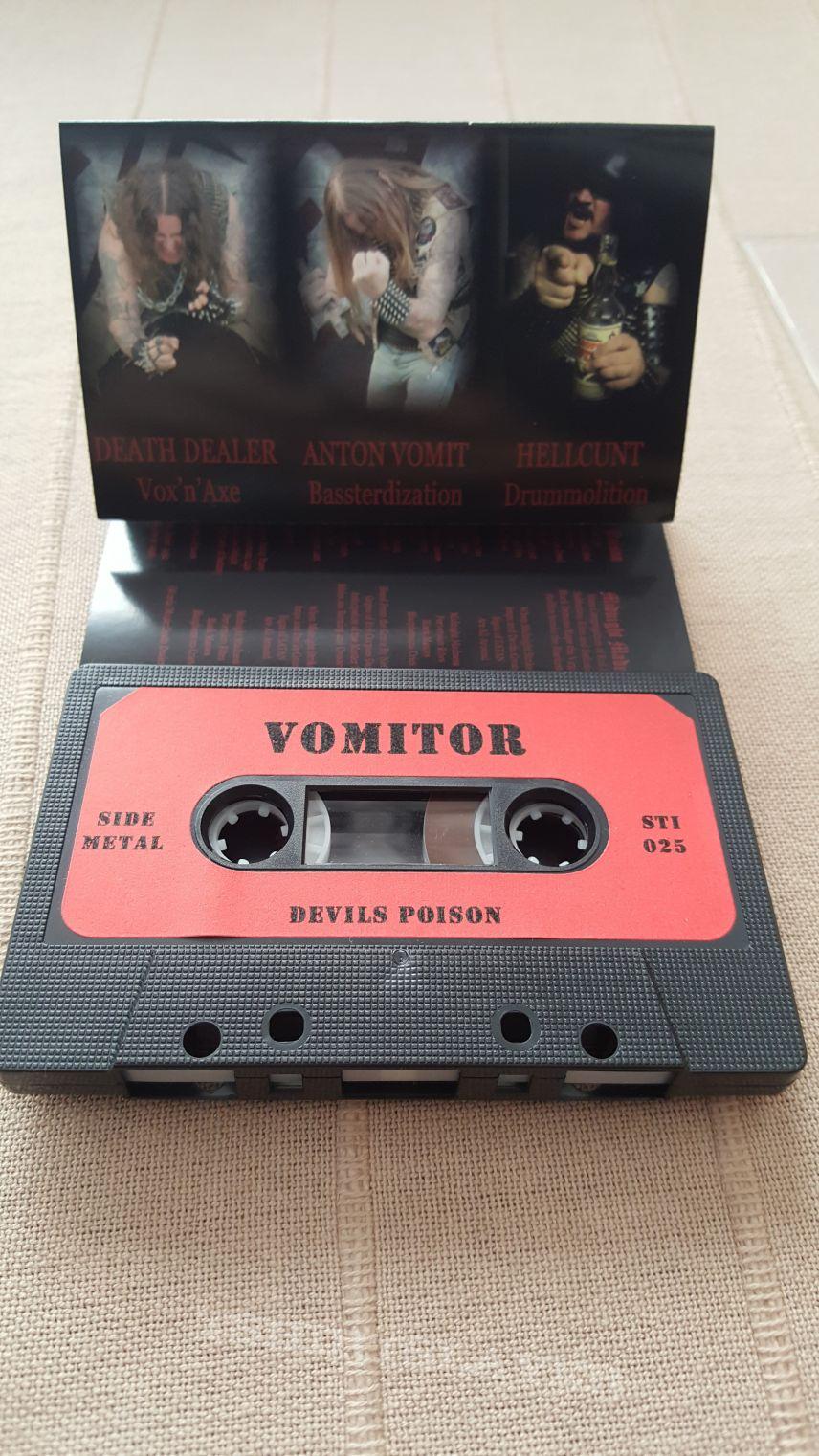 Vomitor - Devils Poison Cassette
