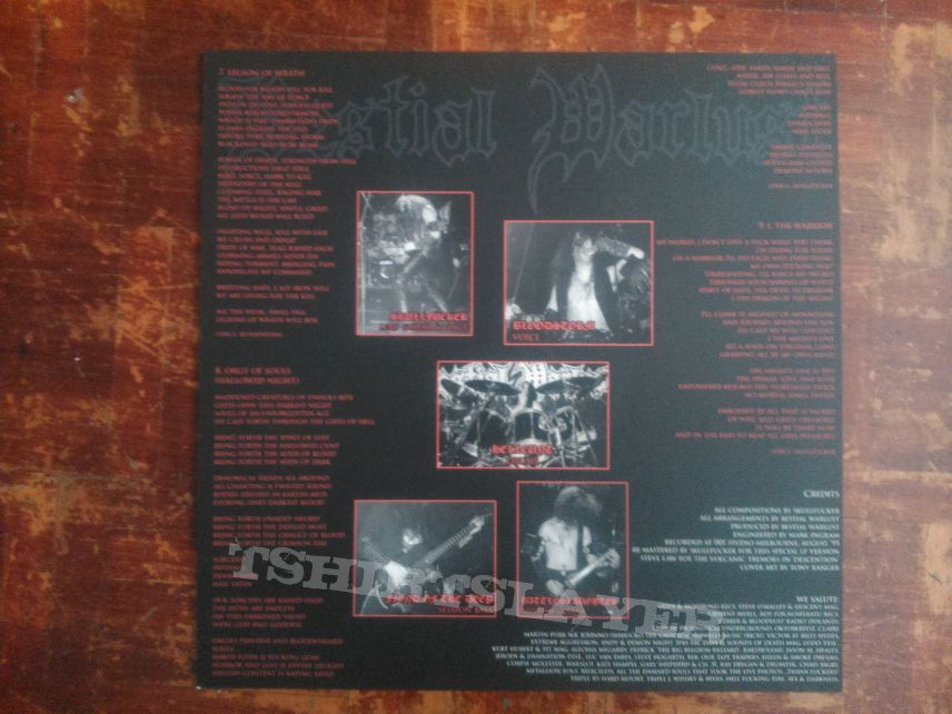 Bestial Warlust - Blood & Valour LP