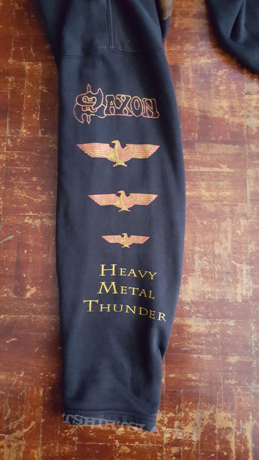 Saxon - Heavy Metal Thunder Hoodie