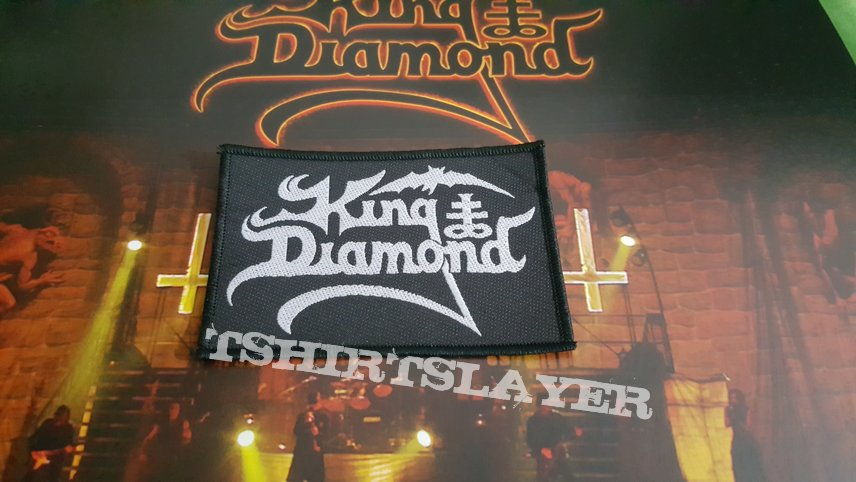 King Diamond - Logo Patch