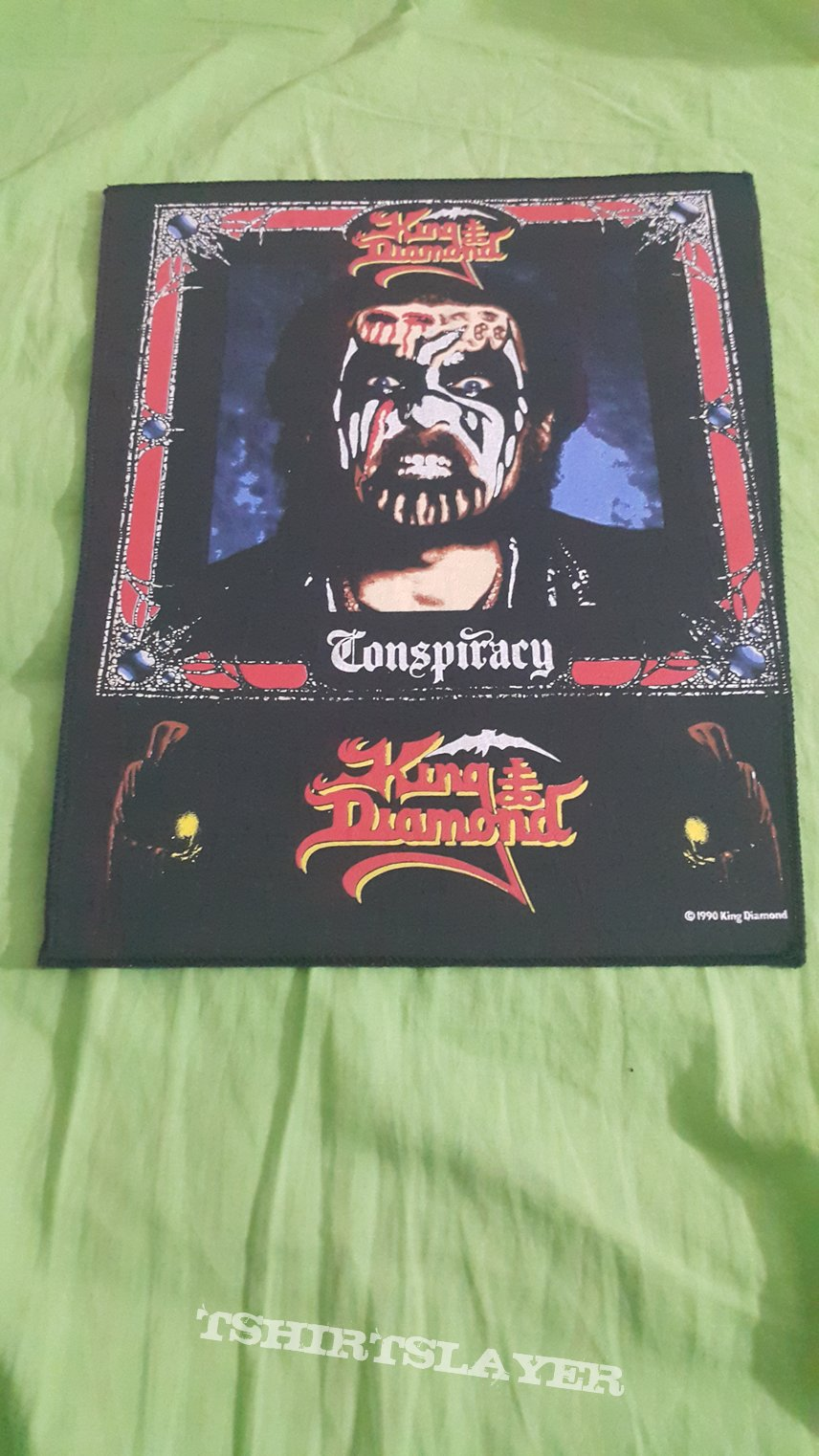 King Diamond - Conspiracy Official Backpatch