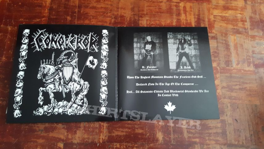 Conqueror - War Cult Supremacy LP