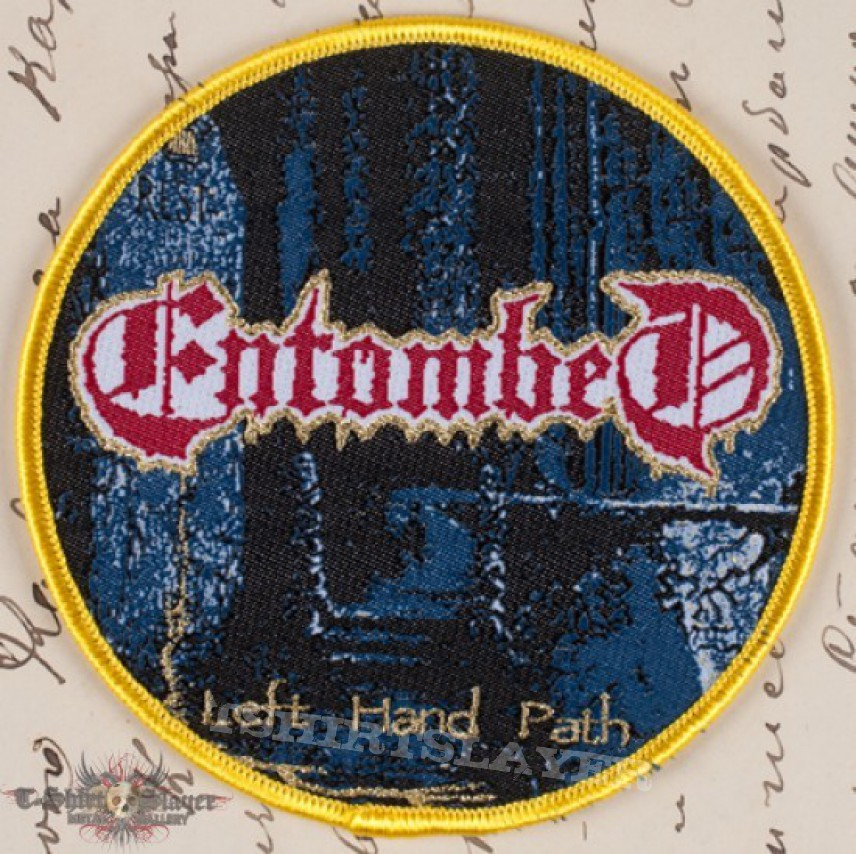 Patch - Entombed bootleg patch