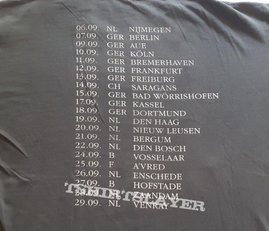 GRAVE Euro Tour 1992 shirt