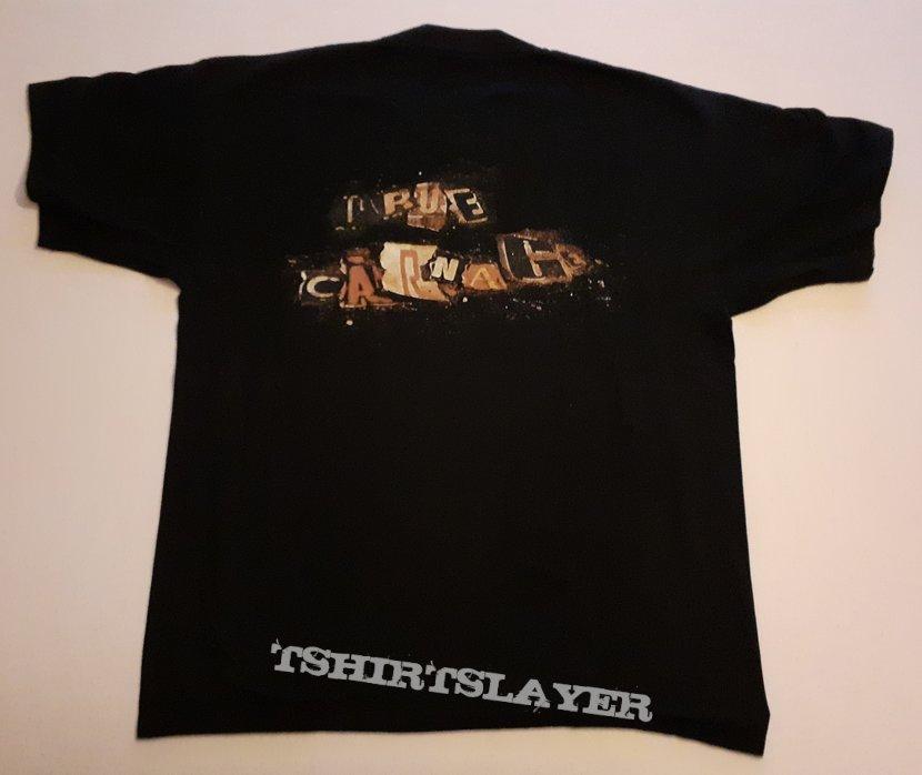 SIX FEET UNDER True Carnage promo shirt